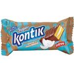 Пирожное бисквит Конти Super Kontik со вкусом кокоса 50г - купить, цены на Фуршет - фото 1