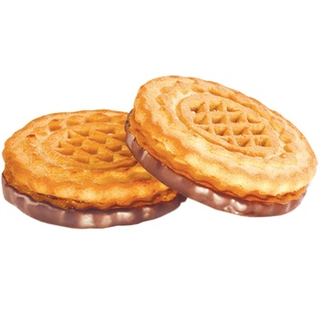 Печенье Конти Згущенкино молочный вкус весовое - купить, цены на Фуршет - фото 1