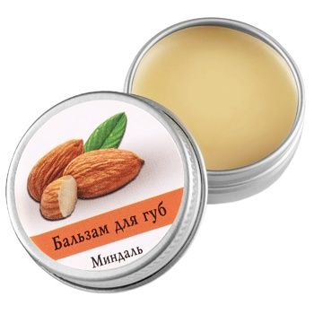 Balsam Aromatika with almonds for lips 10g - buy, prices for MegaMarket - image 1