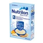 Каша молочна Nutrilon пшенична з абрикосом та бананом 225г