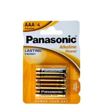Батарейки Panasonic LR03 Alkaline Power ААА 4шт - купить, цены на Фуршет - фото 1