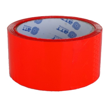 Стрічка клейка червона 48ммх50м