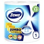 Полотенца кухонные Zewa Design Jumbo бумажные