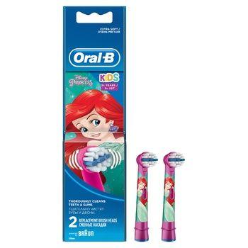 Oral-B Disney Brush Heads for Electric Toothbrush 2pcs - buy, prices for Furshet - image 1
