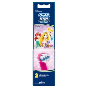 Oral-B Disney Brush Heads for Electric Toothbrush 2pcs - buy, prices for Furshet - image 4