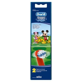 Oral-B Disney Brush Heads for Electric Toothbrush 2pcs - buy, prices for Furshet - image 2