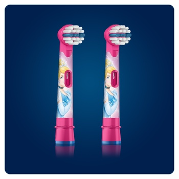 Oral-B Disney Brush Heads for Electric Toothbrush 2pcs - buy, prices for Furshet - image 6