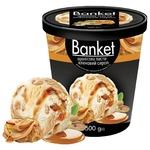 Морозиво Ласунка Banket арах/клен.сир 500г