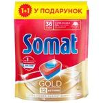 Somat Gold Tablets For Dishwasher 24pc*21g