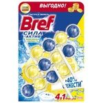 Toilet block Bref Power active 3* 50 g Lemon