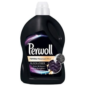 Средство для деликатной стирки Перволь Блек для черных и темных вещей  2,7л - купить, цены на Novus - фото 1