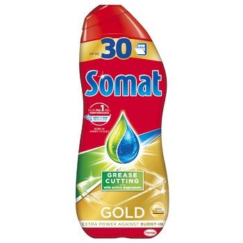 Гель для посудомоечной машины Somat Gold Анти-Жир 600мл