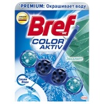 Toilet block Bref Color Water 50g Eucalyptus