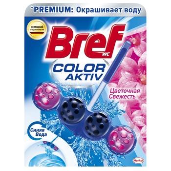 Блок Бреф Сила актив Цветная вода цветочная свежесть 50г