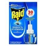 Рідина від комарів Raid для електрофумігаторів 30 ночей 220мл