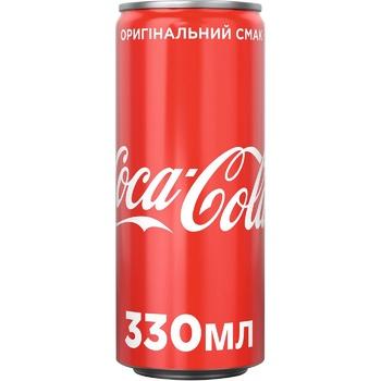 Напиток газированный Coca-Cola ж/б 4х0,33л - купить, цены на Ашан - фото 2