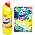 Средство Domestos с ароматом лимонной свежести 1л