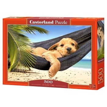 Іграшка-Пазл Castorland 500 тварини - купити, ціни на Ашан - фото 1