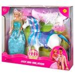 Кукла Defa с лошадкой