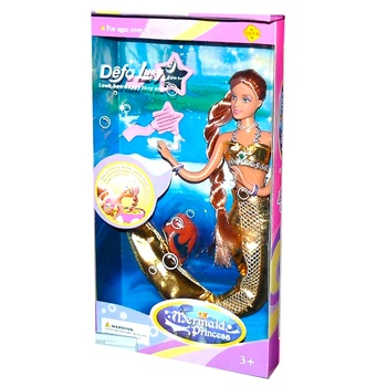 Defa Lucy Mermaid with Accessories Doll - buy, prices for CityMarket - photo 4