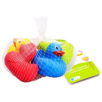 Іграшка Fancy Baby Веселі каченята - купити, ціни на МегаМаркет - фото 1