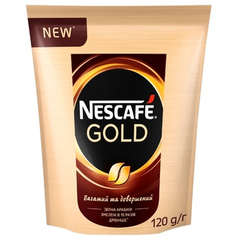NESCAFÉ® Gold instant coffee 120g - buy, prices for MegaMarket - image 1