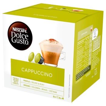 NESCAFÉ® DOLCE GUSTO® Cappuccino coffee in capsules 16pcs 186,4g - buy, prices for MegaMarket - image 1