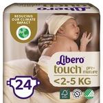 Подгузники  Libero Touch Premature для детей <2,5кг 24шт