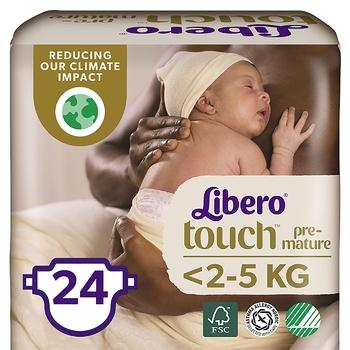 Libero Touch Premature diapers for children <2,5kg 24 pieces