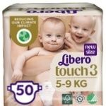 Підгузники Libero Touch для дітей 4-8кг 50шт.