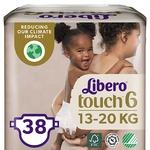 Подгузники Libero Touch 6 13-20кг 38шт
