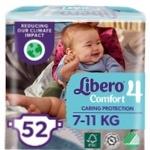 Подгузники Libero Comfort 4 7-11 кг 52шт