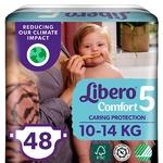 Подгузники Libero Comfort 5 10-14кг 48шт