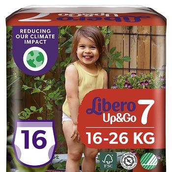 Подгузники-трусики Libero Up&Go 7 16-26кг 16шт - купить, цены на Восторг - фото 1