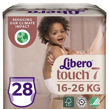 Подгузники-трусики Libero Touch 7 16-26кг 30шт - купить, цены на Восторг - фото 1