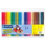 Фломастери Centropen 24 кольори - купити, ціни на Ашан - фото 1