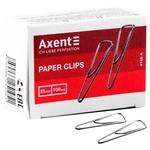Скрепки Axent 4105-А треугольные с загибом 25мм 100шт