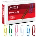 Скрепки Axent цветные 28мм 100шт