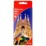 Kite Cities Color Pencils 12pcs - buy, prices for MegaMarket - photo 1