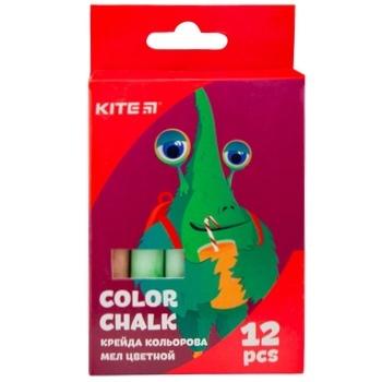 Мел Kite Jolliers цветная 12шт - купить, цены на Ашан - фото 1