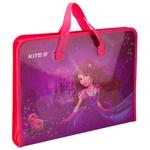 Папка-портфель Kite Princess на молнии A4