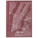 Блокнот Axent A4 Нью-Йорк тверда обкладинка 96 аркушів