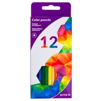 Kite Geometry Color Pencils 12pcs