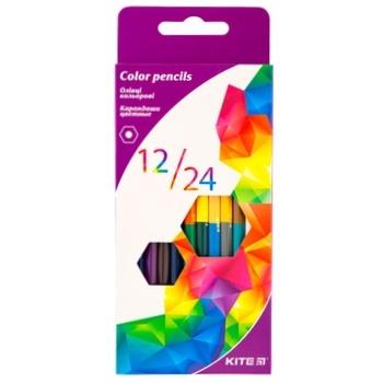 Kite Bilateral Colored Pencils 12pcs