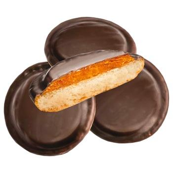 Печенье Делиция сдобное сбивное со вкусом апельсина