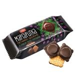 Delicia Margarytka With Black Currant In Durk Glaze Butter Cookies 150g