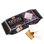 Delicia Margaritka With Black Currant Taste In Milk Glaze Butter Cookies 150g