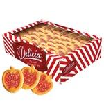 Печиво Деліція Райські яблучка зі смаком вишні 600г