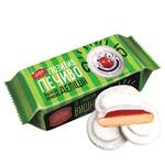 Печенье Делиция Позитив сдобное сбивное в молочной глазури со вкусом вишни 135г