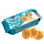 Печенье Делиция Райские яблочки сдобное со вкусом апельсина 180г